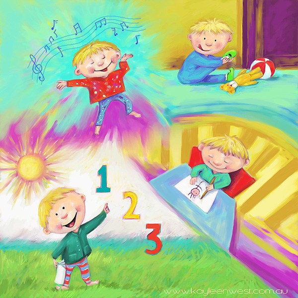 Children's Book Illustration: Learning