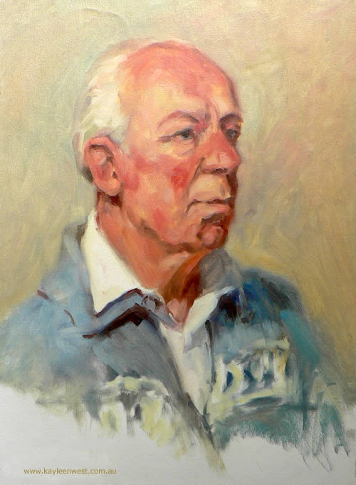 Portraiture: Oil Study