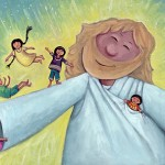 Children's Picture Book Illustration: Adoptive Father