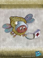 Illustration Friday: Search and rescue bug. Children's Illustration