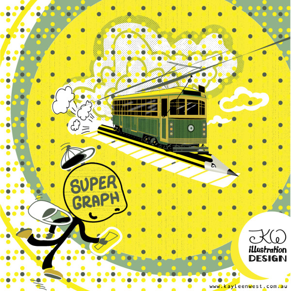 Yarra Trams, City Of Melbourne and Supergraph Competition: Trams to Supergraph