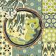 Gum Leaf Patterns: Koala and Gum Leaf Collection - detail