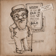 Wisdom of old, more precious than gold