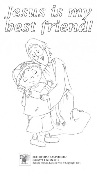friends of jesus coloring pages - photo#12