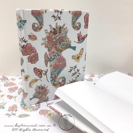 Seahorse Hardback Journal