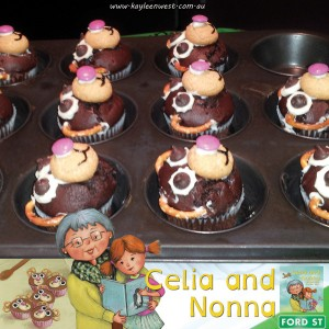 Celia and Nonna Teddy Cakes recipe instructions Step #9