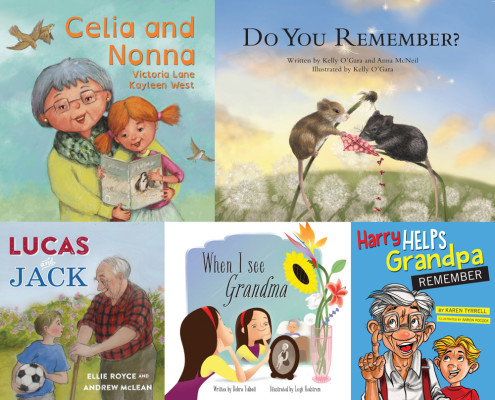 World Dementia Month September - Books Encourage Children to Connect