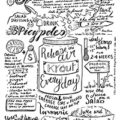 Bullet Journal Notes - Pete Evans Gut Health Event